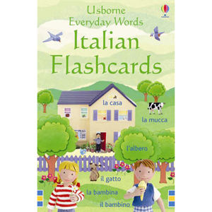 Everyday Words in Italian Flashcards