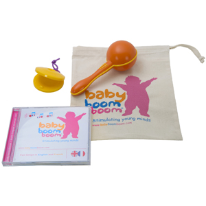 Maraca Castanet and CD Set